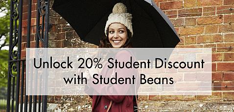 Unlock 20% Student Discount with Student Beans