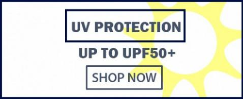UP TO UPF50+ Protection from the Sun & Rain